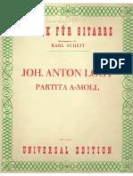 Suite John Anton Logy Classical Guitar