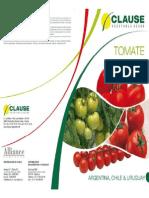 Folleto Tomates Clause