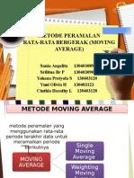Metode Peramalan Moving Average