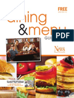 Dining and Menu Guide 2015