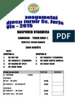 Raspored Turnir 2005.2015