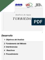 Análisis de Agua Turbiedad - Sunass