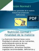 1. Historia de La Nutricion. Antropometria