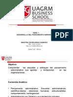 2.-Tema 1 Desarrollo Del Pensamiento Administrativo
