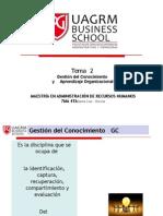4.-Tema 2.Gestion Del Conocimiento y Aprendizaje Organizacional