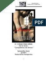 El Coraje para amar - Samantha Kane.Doc