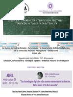 Ponencia Inés Dussel Seminario MeNte 2015