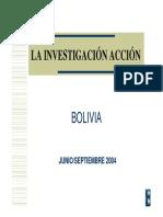 Investigacion Accion Bolivia