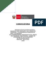 CONCURSO DOCENTE