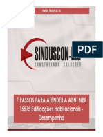 Norma 15575- Sinduscon Mg