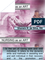 Nursing as an Art