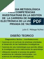 Tesina Estrategia Metodológica Para Competencias Investigativas en La Gestión