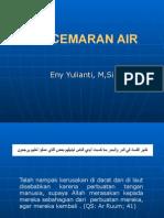 c. Pencemaran Air