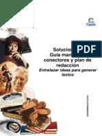 3 Solucionario Guía Manejo de Conectores y Plan de Redacción Entrelazar Ideas Para Generar Textos 2014 ENTRENAMIENTO