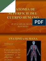 Anatomia de Superficie Del Cuerpo Humano