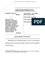 The Stephen R. Gracey amended federal complaint
