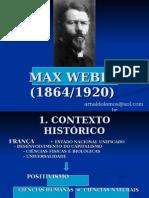 MAX WEBER - apresentação.ppt