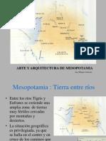 Arte y Arquitectura de Mesopotamia