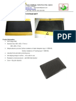 Esd Safe Anti-fatigue Mat