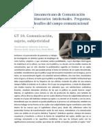 Congreso Latinoamericano de Comunicación_ GT 10-Comunicación_Sujeto_y_subjetividad