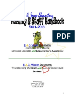 2014-2015 eaj faculty handbook