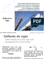 Deflexao de Vigas