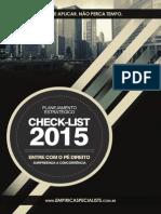 Checklist Planejamento 2015