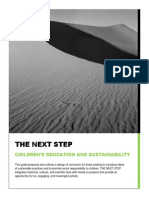 Arts and Crafts Curriculum for Sustainability Draft 3