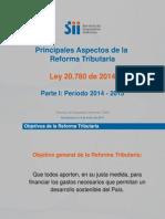 Reforma tributaria Principalesaspectos