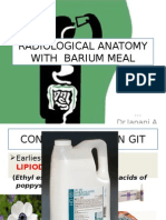 Radiological Anatomy With Barium Meal