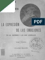 DARWIN, C. - La Expresión de Las Emociones (en El Hombre y en Los Animales) [Por Ganz1912]