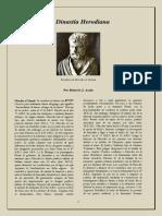 La Dinastia Herodiana