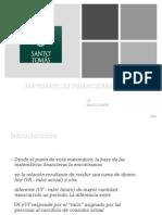 Clase 1 Matematicas Financieras Introduccion New 1