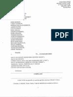 Complaint against San Juan County Adult Detention Center