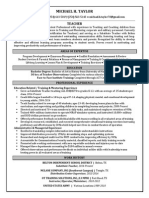 michael-taylor-teaching-resume