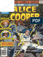 Marvel Premiere 50 Alice Cooper