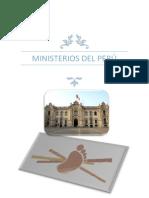 Ministros del Perú, Minerales del Perú
