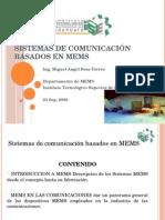 Sistemas de Comunicación Basados en MEMS