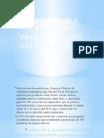 Porcentaje y Número de Productos Con Salvaguardias