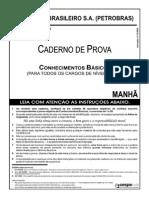 Prova Da Petrobras Conhecimento Básico de Técnico de Edificações
