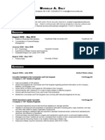 Michelle Daly Resume 012110