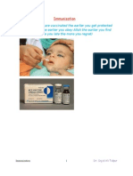 Community Medicine BCQs (Immunization)