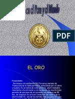 EL ORO EN EL PERÚ.ppt