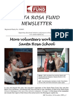 Santa Rosa Fund Newsletter Issue 34