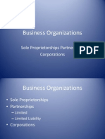 Business Organizations(1)
