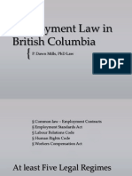 Employment Law in British Columbia(1)