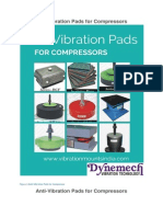 AntiVibration Pads for Compressors