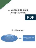 El Concebido en La Jurisprudencia