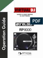 Reloop-Reloop RP8000 VirtualDJ8 OperationGuide