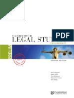 Cambridge Legal Studies Preliminary